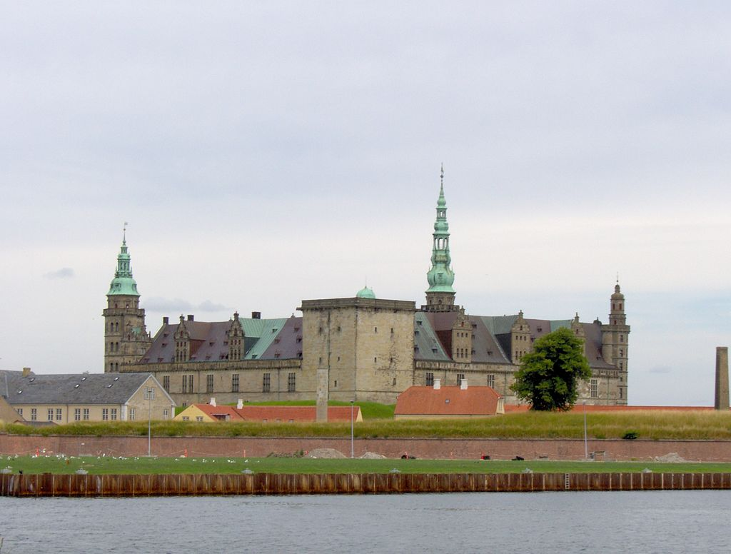 Kronborg Palace in Elsinore. Photo: Wikimedia Commons/Charlotte S.H. Jensen. Photo.