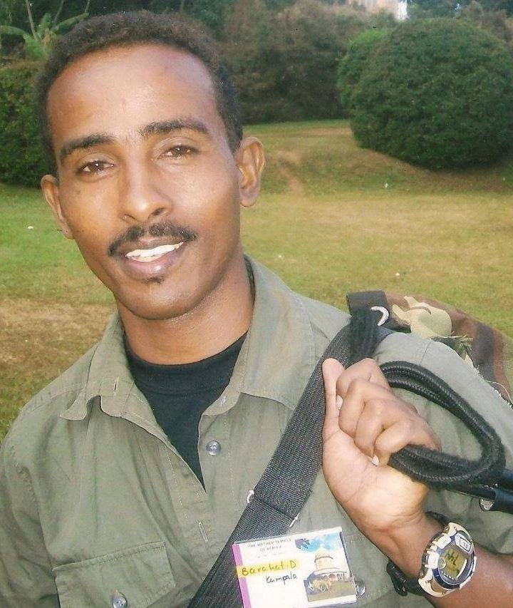 Eritrean journalist, Dessale Berekhet, ICORN writer in residence in Bø, Norway. Photo.
