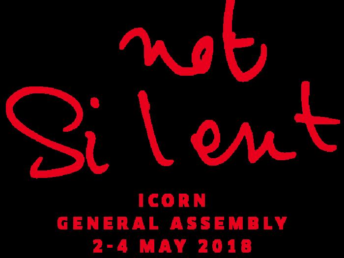 Safe not Silent, ICORN General Assembly, 2-4 May 2018, Malmö. Photo.