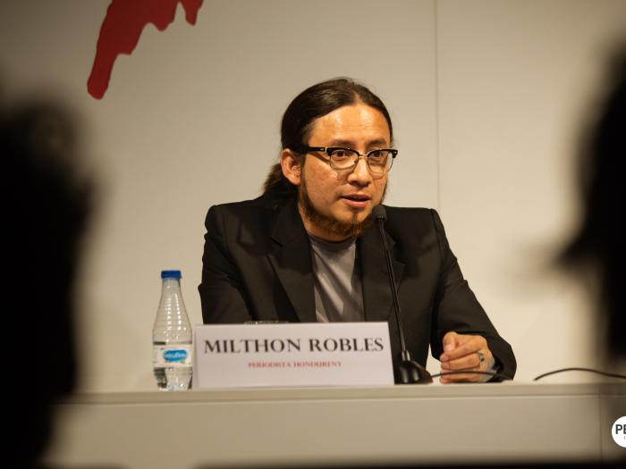 Milthon Robles. Photo: Luay Albasha. Photo.