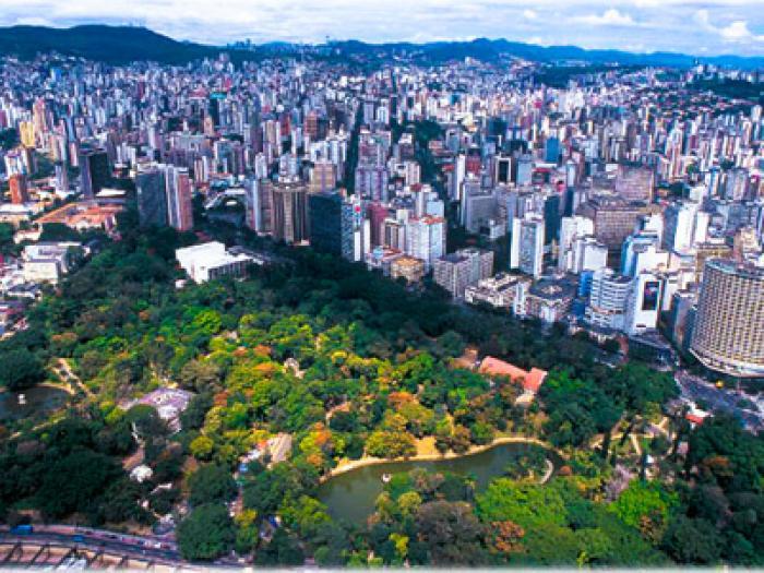 Parque Municipal, Belo Horizonte. Photo: Prefeitura BH. Photo.