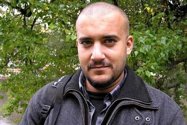 Khaled Harara, ICORN guest writer in Gothenburg, musician/rapper