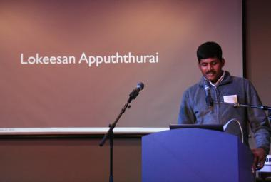 Lokeesan Appuththurai. Photo: Tommy Soltvedt. Photo