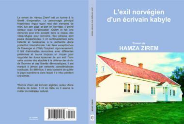 Hamza Zirem novel. Photo.