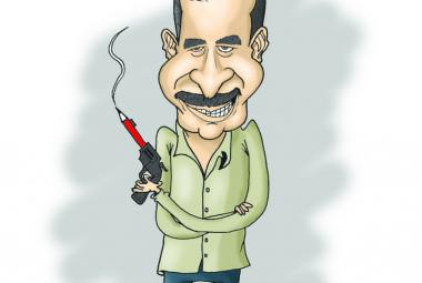 © Fadi Abou Hassan by cartoonist Nayeb