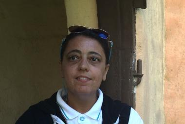 Iman Al-Ghafari. Photo by Sofia Af Geijerstam. Photo.