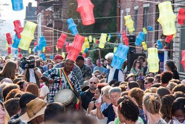CoA event on Sampsonia Way. Photo: CoA/P