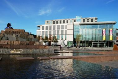Asker Cultural Centre and Public Library. Photo.