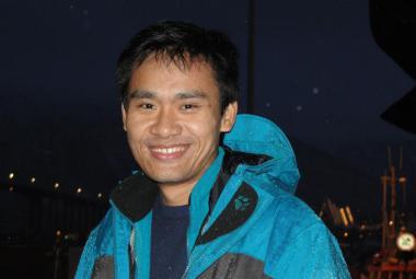 Le Thanh Trung, Vietnam/Tromsø (Photo: Jahangir Akash)