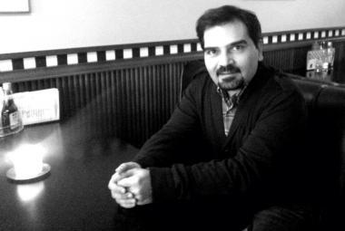 Mohammad Rahbar. Photo: Marianne Hovdan/ICORN. Photo