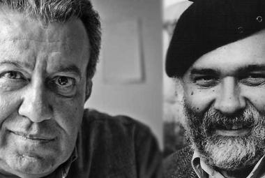 Left: Erol Özkoray, journalist/political writer and ICORN writer in Växjö. Right: Ragip Zarakolu, writer/publisher and ICORN writer in Sigtuna. Photo.