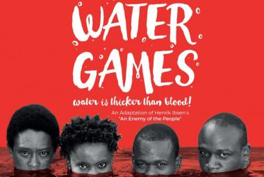 Water Games poster. Photo.