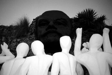 Lenin. By Orlando Luis Pardo Lazo. Photo.
