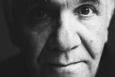 Art critic Suhael Sami Nader. Photo.
