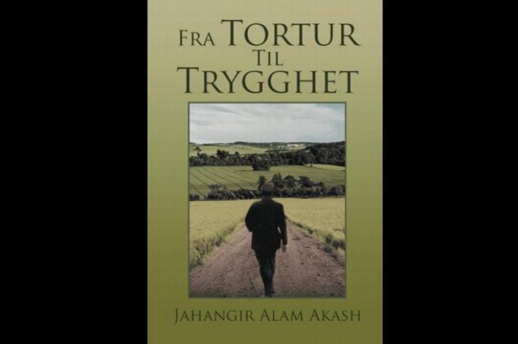 """""""Fra tortur til trygghet""""book cover. Photo"""