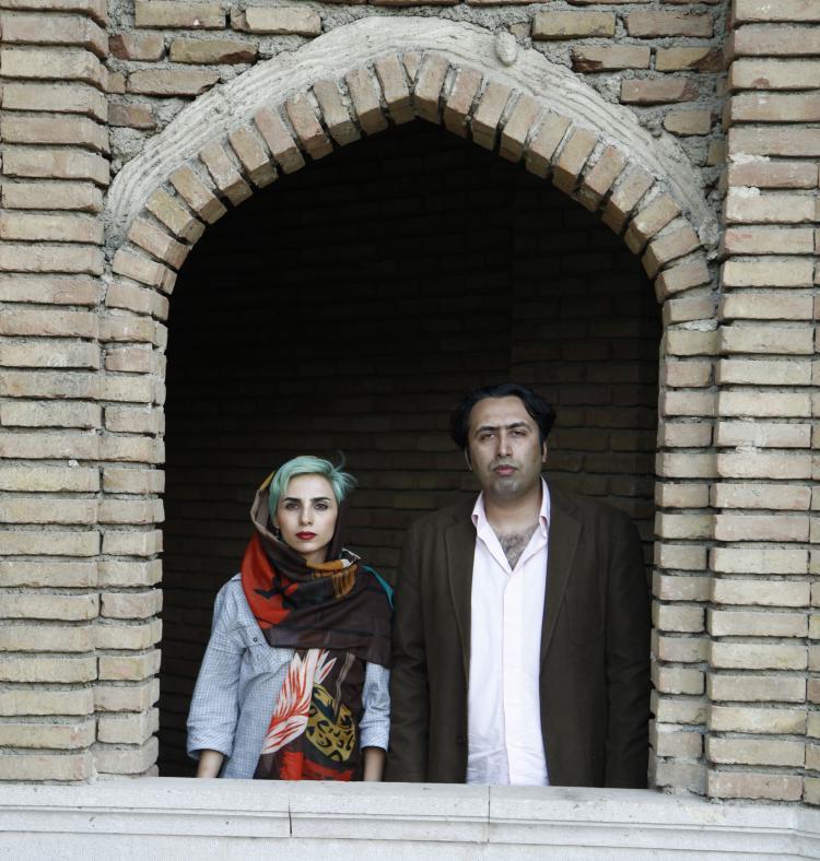 Fatemeh Ekhtesari and Mehdi Mousavi in Iran. Photo: © Mohammad Sadegh Yarhamidi. Photo.