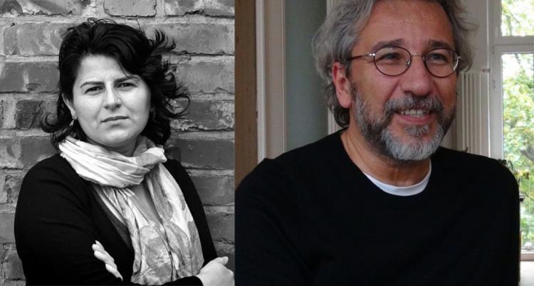 Gunel Movlud and Can Dündar. Photo.