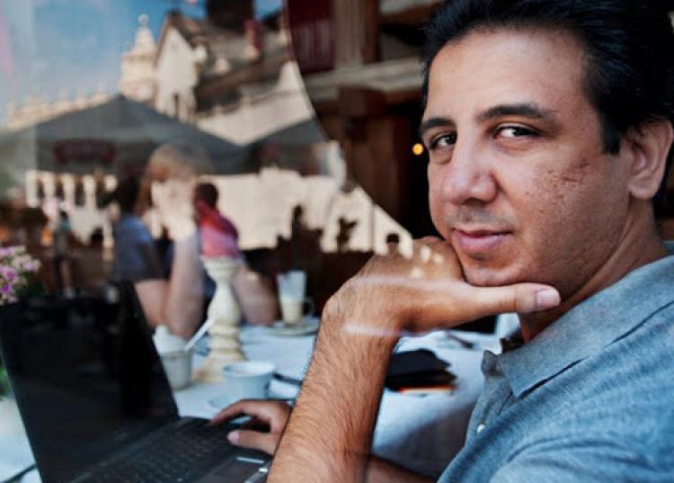 Kareem Amer. Photo