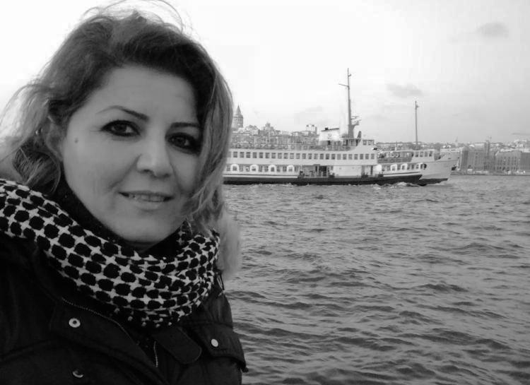 Iraqi journalist Muntaha Alshahwani. Photo.