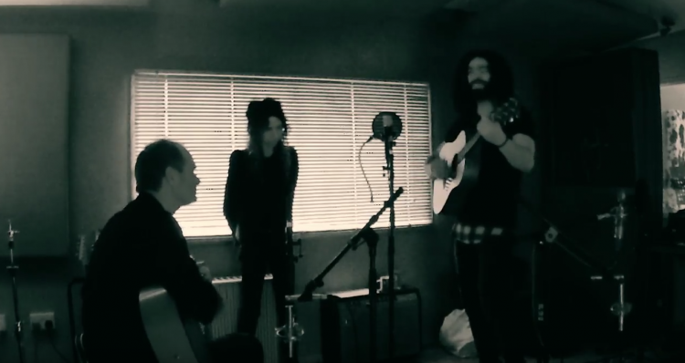 PJ Harvey and Ramy Essam. From official video The Camp. Photo.