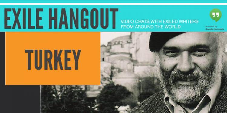 Exile hangout with Ragip Zarakolu. Photo.