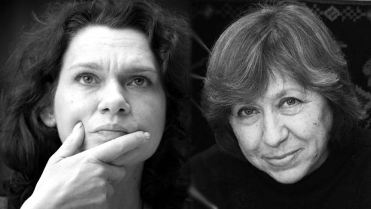 Asli Erdorgan and Svetlana Alexievich