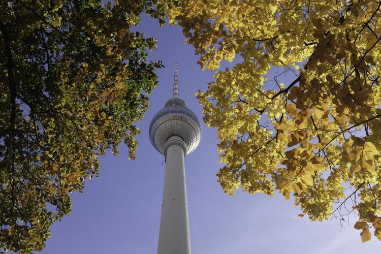 Berliner Fernsehturm, Alexanderplatz. Photo: ©Ahmed Al Ghasra.