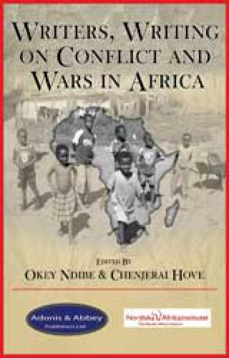Writers Writing on Conflicts and Wars in Africa. Photo of book cover.