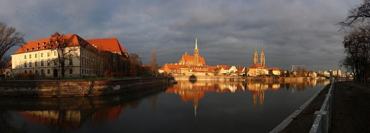 Wrocław.  (Wikimedia Commons). Photo.