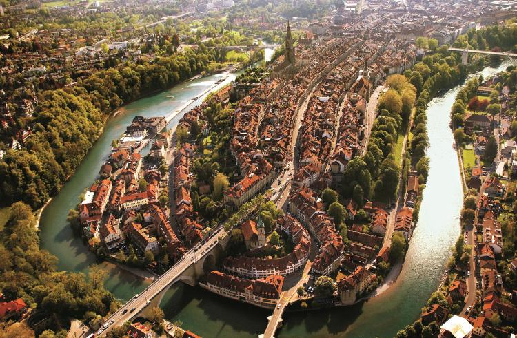 The City of Bern. Photo.