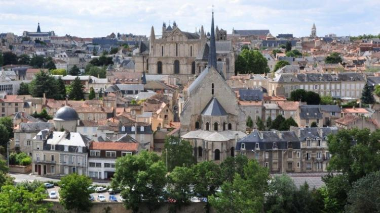 The City of Poitiers. Photo.