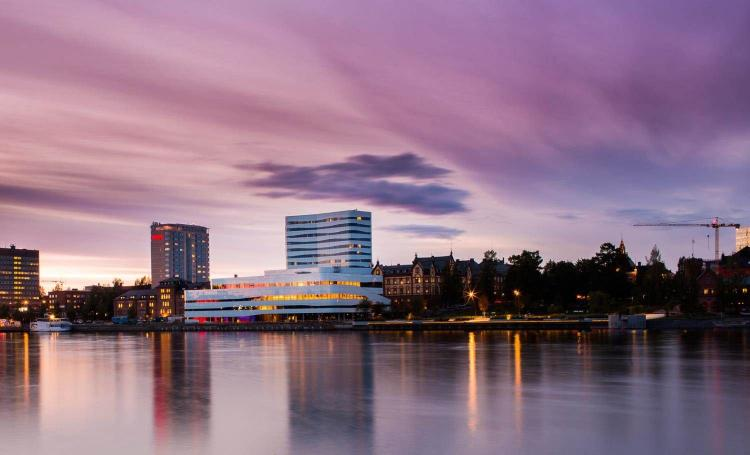 Väven, Umeå Cultural House. Photo.
