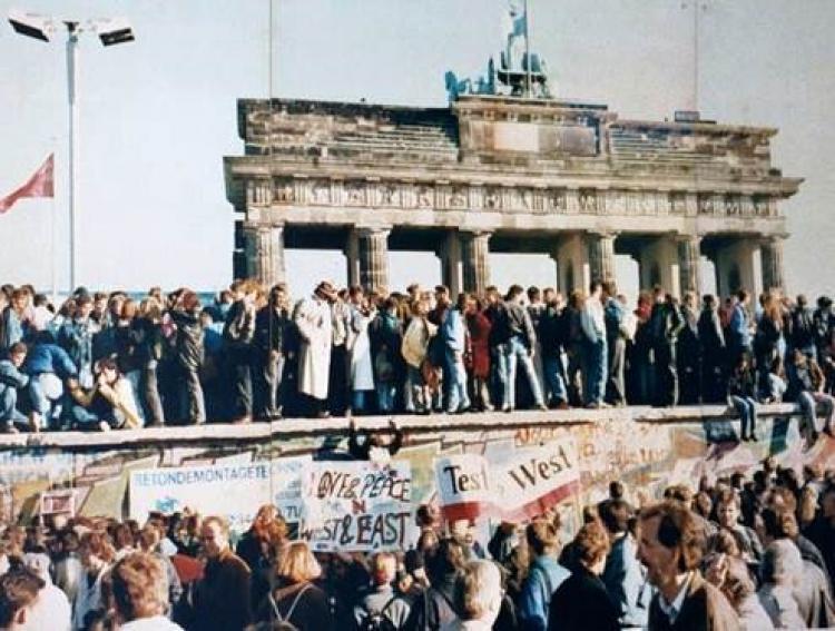 Berlin 1989. Photo.
