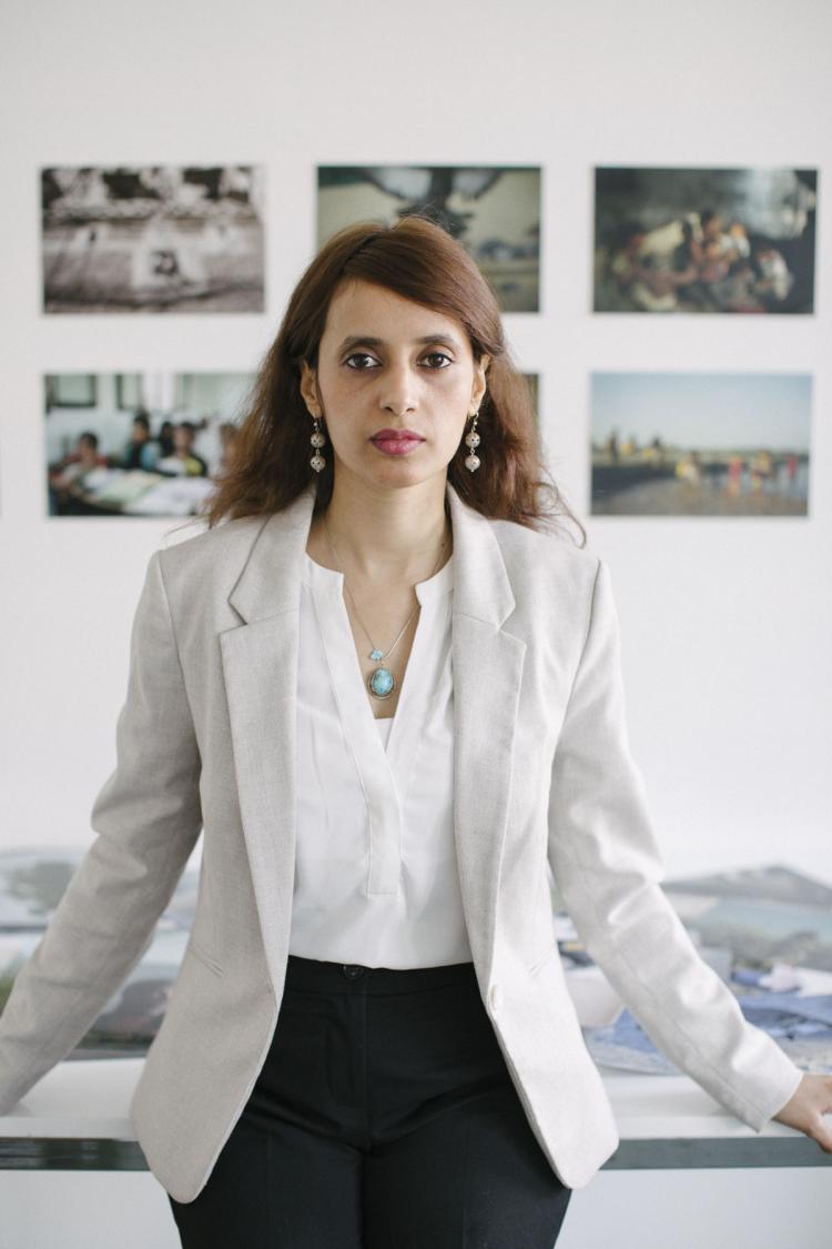 Photo journalist Amira Al Sharif. ICORN artist in residence, Paris 2019-2021. Photo.