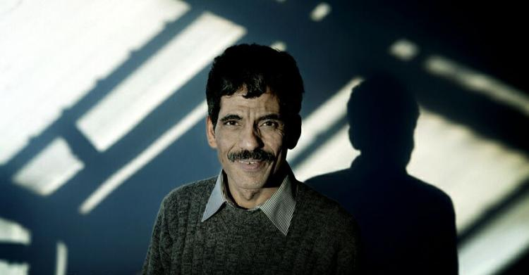 Poet Mansur Rajih. Photo.