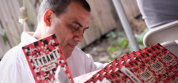 Horacio Castellanos Moya (El Salvador). Photo: City of Asylum/Pittsburgh. Photo.