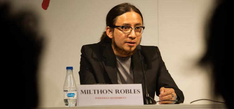 Milthon Robles. Photo: Luay Albasha. Photo.
